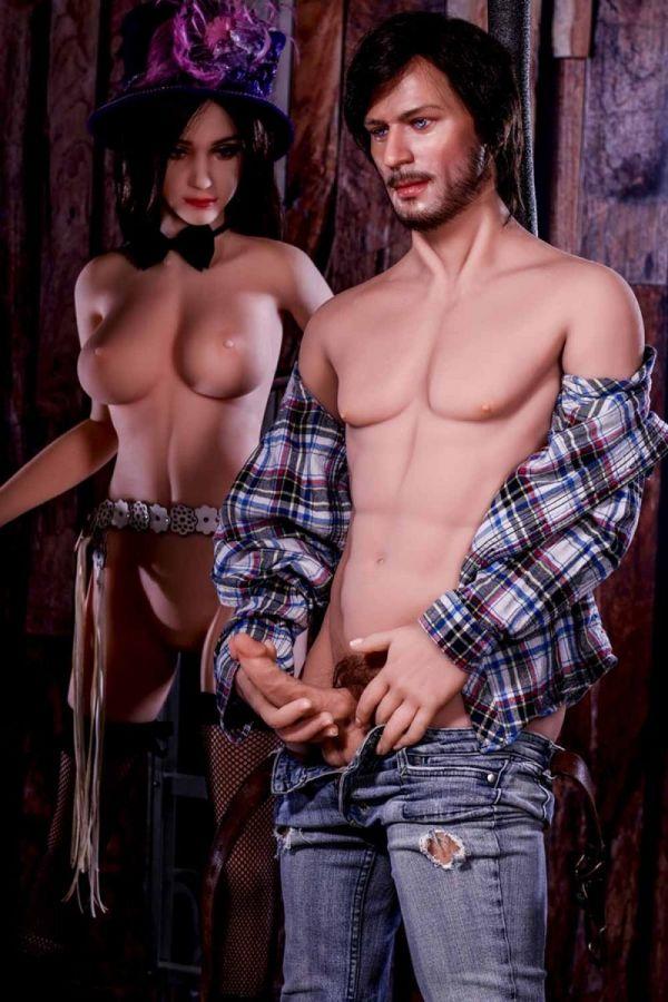 167cm 5ft6 Male TPE Sex Doll Adair
