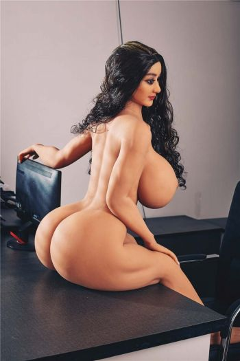 140cm 4ft7 Huge Breasts Big Ass Fat Sex Doll for Man Alexa
