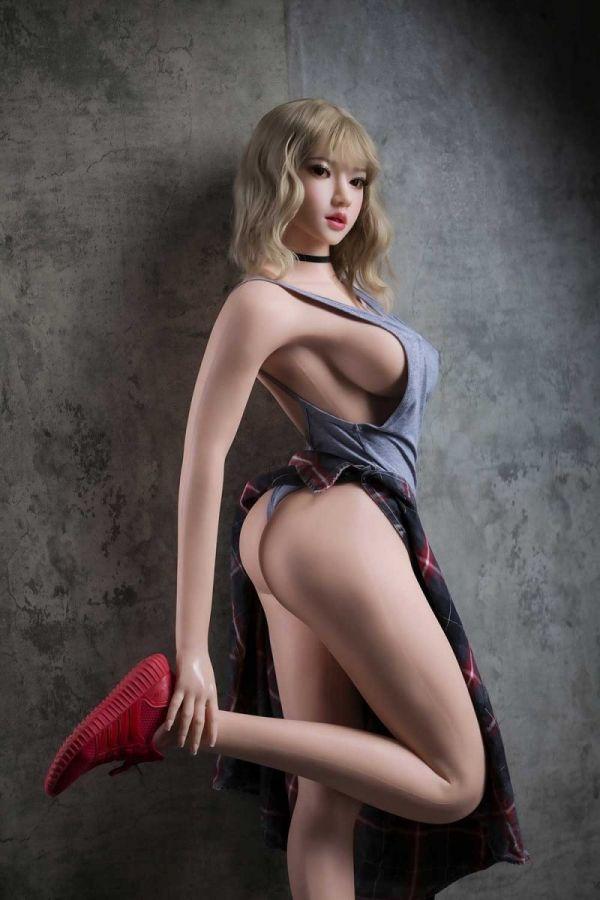 160cm 5ft3 Gcup Silicone Hyper Realistic Silicone Sex Doll Katja Amodoll